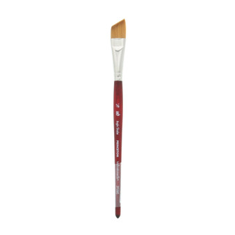 Princeton Brush Velvetouch Mixed Media 3950 series Angle Shader size 5/8
