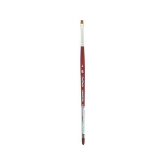 Princeton Brush Velvetouch Mixed Media 3950 series Chisel Blender size 4