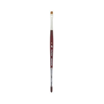 Princeton Brush Velvetouch Mixed Media 3950 series Chisel Blender size 6