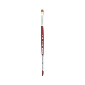 Princeton Brush Velvetouch Mixed Media 3950 series Chisel Blender size 8