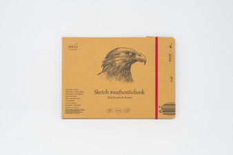 SM-LT Art Paper Authentic Stitched Sketch Kraft