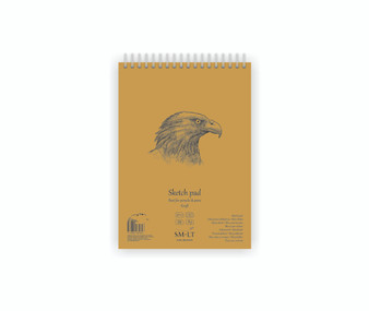 SM-LT Art Paper Authentic Sketch Pad Kraft A5