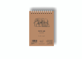 SM-LT Art Paper Authentic Sketch Pad Brown A5