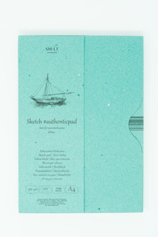 SM-LT Art Paper Authentic Folder Sketch White A4