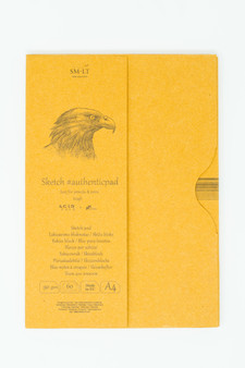 SM-LT Art Paper Authentic Folder Sketch Kraft A4