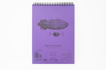 SM-LT Art Paper Authentic Sketch Pad Ingres A4
