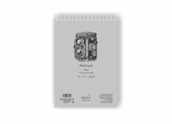SM-LT Art Paper Authentic Bristol Pad White A4