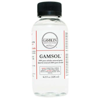 Gamblin Gamsol Solvent 4oz