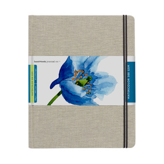 "Hand Book Journal Travel Watercolor 140lb Grand Portrait 8.25"" x 10.5"""