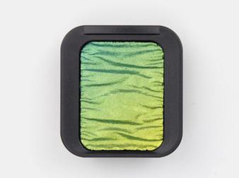 Finetec Pearlescent Watercolor Pan Flip-Flop Color Patina