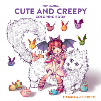 Pop Manga Cute and Creepy Coloring Book