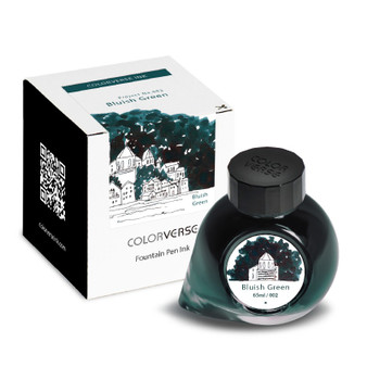 ColorVerse Fountain Pen Project Ink 65ml Bottle Bluish Green