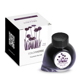 ColorVerse Fountain Pen Project Ink 65ml Bottle Deep Purple