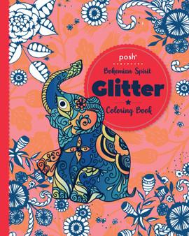 Posh Glitter Coloring Book Bohemian Spirit