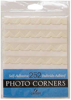 Canson Self-Adhesive Photo Corner Sheets Ivory