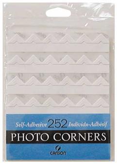 Canson Self-Adhesive Photo Corner Sheets White