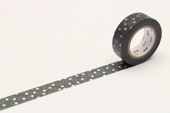 MT Washi Tape Snow Yukiwa Charcoal