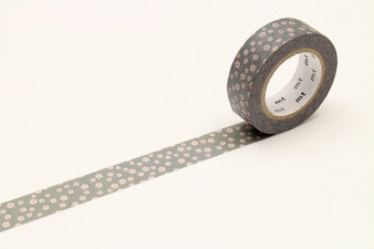 MT Washi Tape Flower Grey