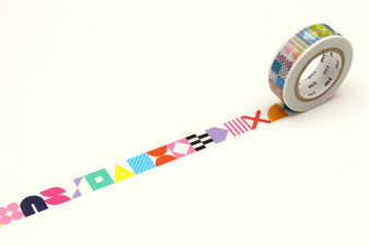 MT Washi Tape 15mm Symbols