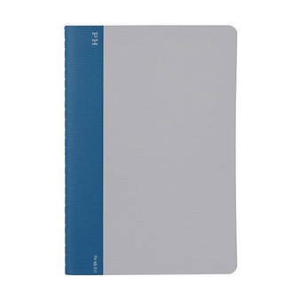 Hightide Stationery Cheesecloth Ruled Notebook B6 Blue