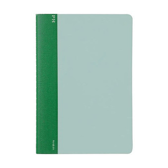 Hightide Stationery Cheesecloth Ruled Notebook B6 Green