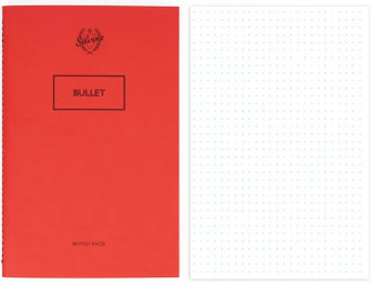 "Silvine Originals Bullet Journal 5X7.5"""