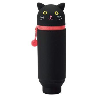 Punilabo Silicone Pen Case Black Cat