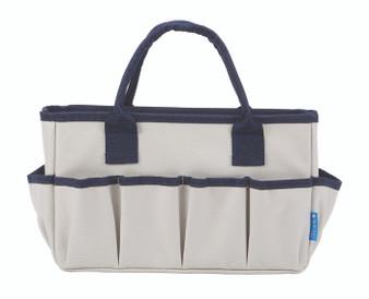 Itoya ProFolio Entourage Tote Bag Small Gray/Navy