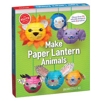 Klutz Press Make Paper Lantern Animals