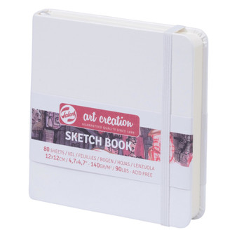 Talens Art Creation Sketchbook White Square 12cmx12cm