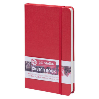 Talens Art Creation Sketchbook Red A5