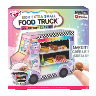 Fashion Angels 100% Extra Small Mini Clay Kit Food Truck