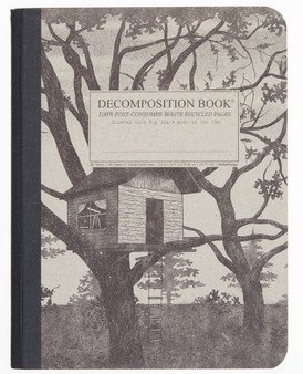 Decomposition Notebook Ruled Treehouse
