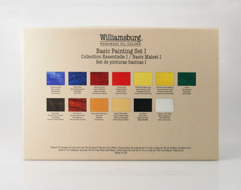 Williamsburg Handmade Oil Basic 13 Color Set