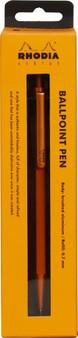 Rhodia Ballpoint Pen 0.7mm Orange