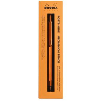 Rhodia Mechanical Pencil 0.5mm Orange