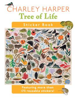 Pomegranate's Charley Harper: Tree of Life Sticker Book