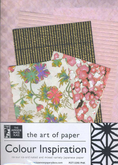 Japanese Paper Place Colour Inspiration Paper Pack Pink