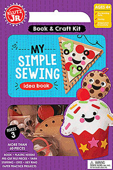 Klutz Jr. Activity Kit My Simple Sewing Kit