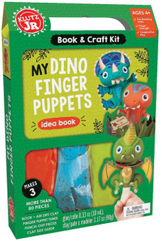 Klutz Jr. Activity Kit My Dino Finger Puppet