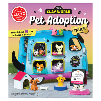 Klutz Activity Kit Mini Clay World Pet Adoption Truck