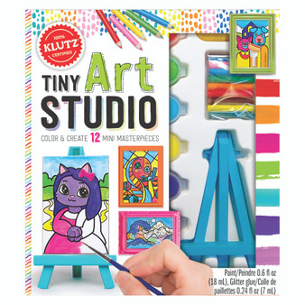 Klutz Activity Kit Tiny Art Studio