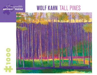 Pomegranate 1,000-piece Jigsaw Puzzle Wolf Kahn: Tall Pines