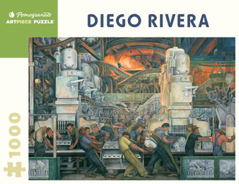 Pomegranate 1,000-piece Jigsaw Puzzle Diego Rivera: Detroit Industry