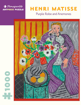 Pomegranate 1,000-piece Jigsaw Puzzle Henri Matisse: Purple Robe and Anemones