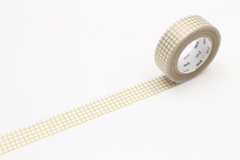 MT Washi Tape Graph Hougan Gold