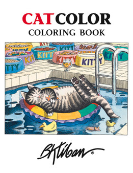 Pomegranate Coloring Book Kliban CatColor