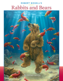 Pomegranate Coloring Book Robert Bissell's Rabbits and Bears