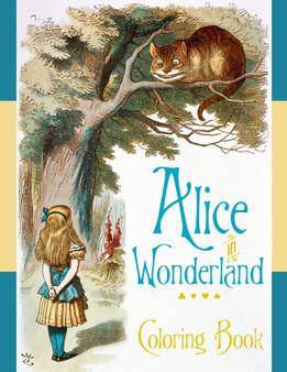 Pomegranate Coloring Book Alice in Wonderland