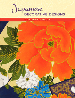 Pomegranate Coloring Book Japanese Decorative Designs